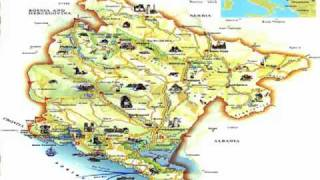 Download Youtube Mp Montenegro Map - Montenegro map download