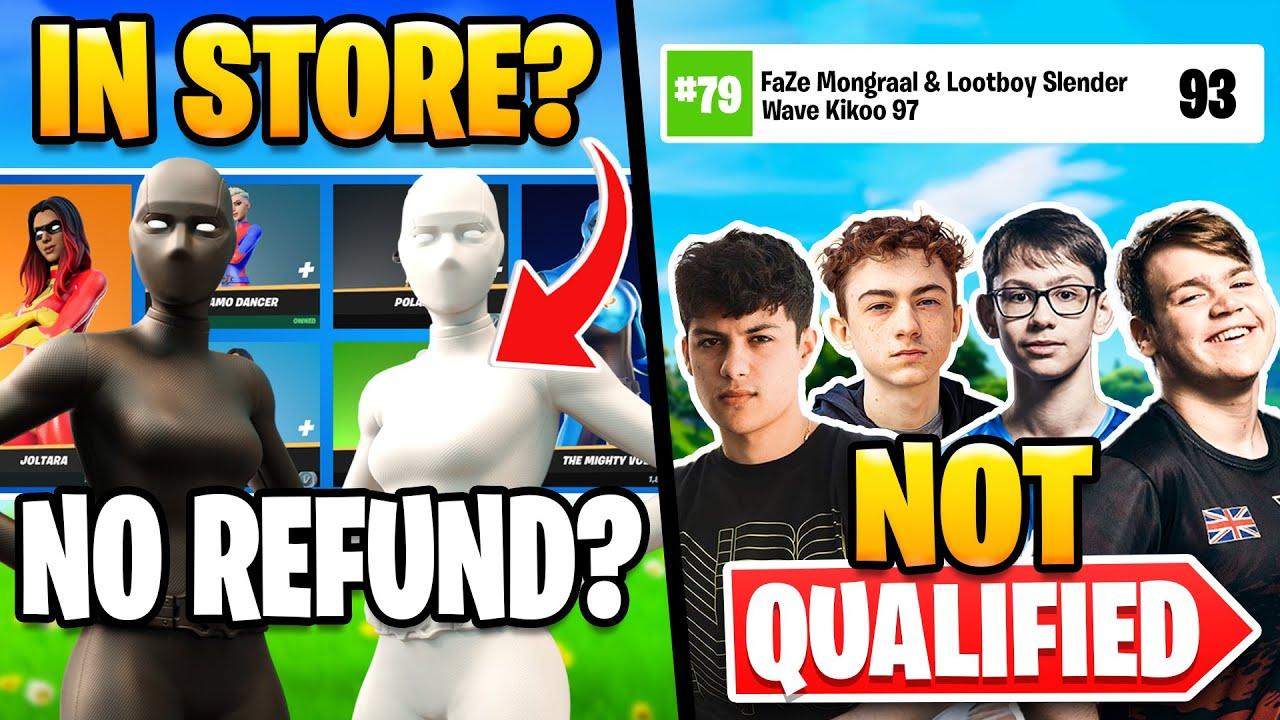 Big Names Struggling:  Mongraal, Letshe, Ron | Super Hero Skin is Back?