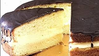 """ТОРТ """" БОСТОНСКИЙ"""" Американский кремовый пирог/CAKE BOSTONSKY American Cream Pie"""