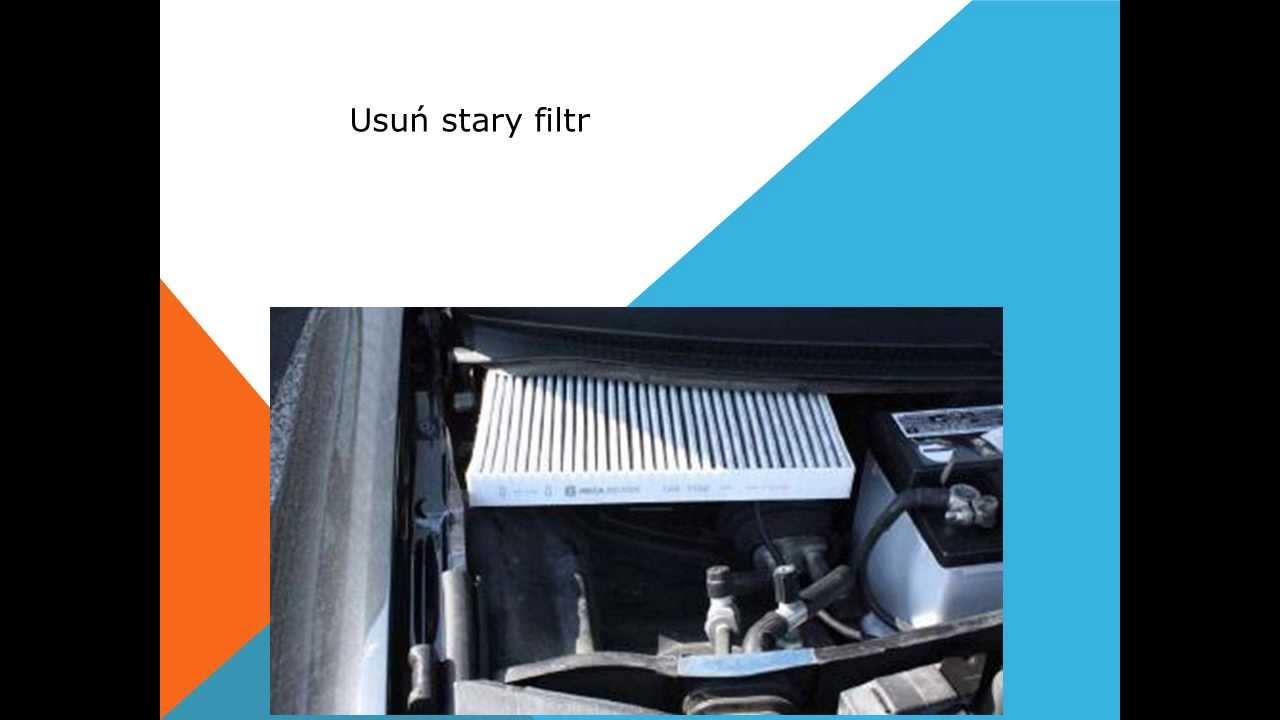 Jak Wymienić Filtr Kabinowy Filtr Pyłk 243 W Kurzu Na Audi A6