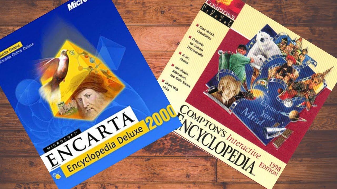 PCs Before the Web    Compton's Encyclopedia 98 & Encarta 2000