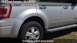 2008 ford escape xlt 4dr suv i4 for sale in orlando fl 3280