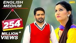 English Medium | Sapna Chaudhary, Vickky Kajla | Masoom Sharma, AK Jatti | New Haryanvi Song 2018