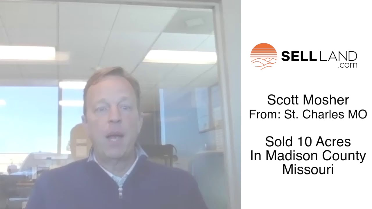 Sell Land | Scott's experience selling vacant land...