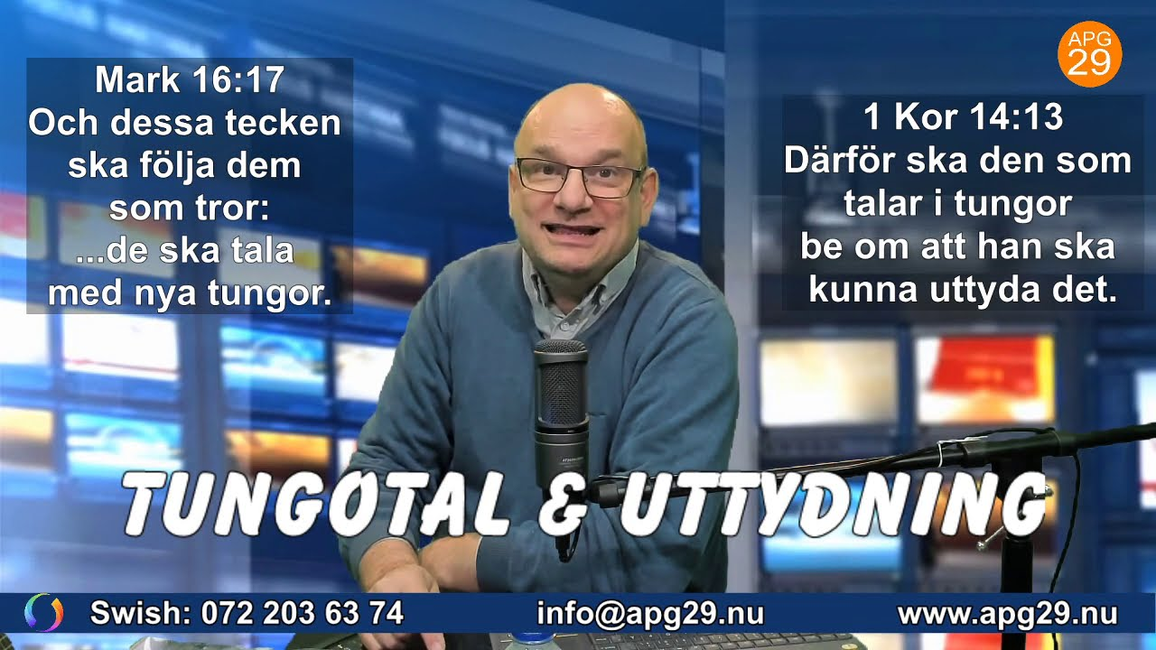Tungotal & uttydning - Demonstration av Christer Åberg.