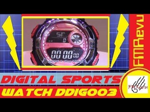 fmddig003-digital-sports-watch-|-men's-fashion-watch-review-|-how-to-set-watch-time-|-fmrevu