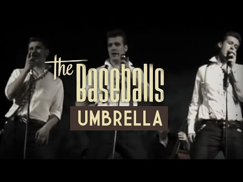 The Baseballs - Umbrella (official Video)