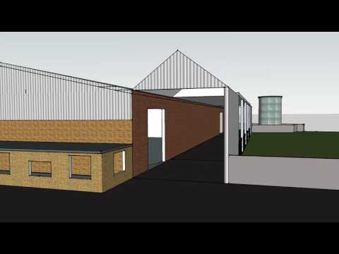 Industrial Building Design - Architecture - Planning Permission - HAD