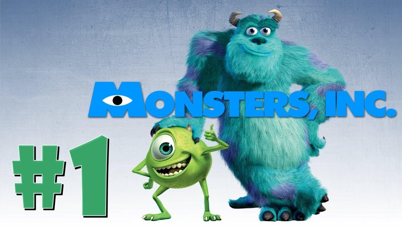 Monsters Inc Psx Ps1 Psone Espanol En Directo Parte 1 Youtube