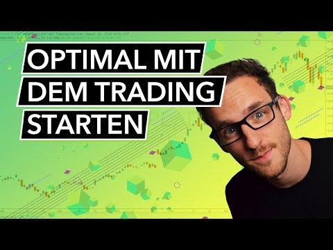 So startest Du optimal mit dem Trading - Traden lernen für Anfänger!