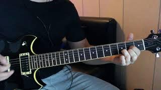 Виктор Цой - Уходи, соло партия Юрия Каспаряна (кавер версия)