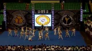 HAU Cheerleading Varsity -- NCC National Finals 2012
