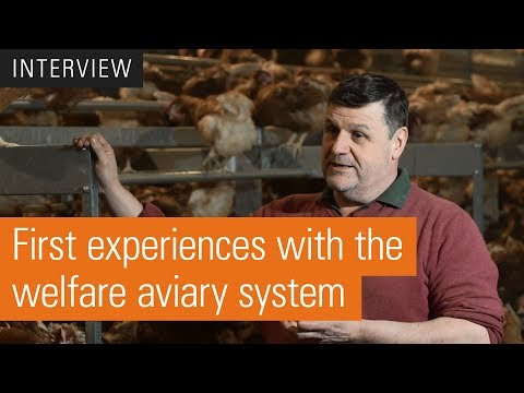 Welfare aviary system | Natura Nova Triple Top