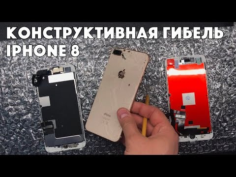 8 Plus тотал - когда ремонт выходит дороже нового IPhone...