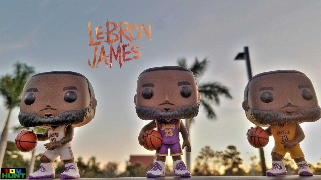 Footlocker Exclusive LeBron James Funko
