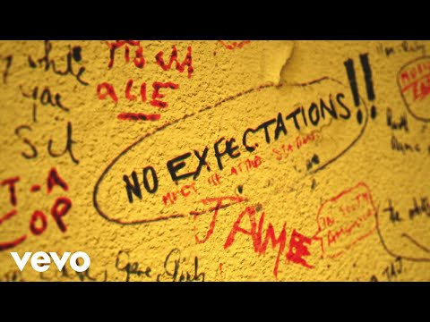 The Rolling Stones - No Expectations (Official Lyric Video)