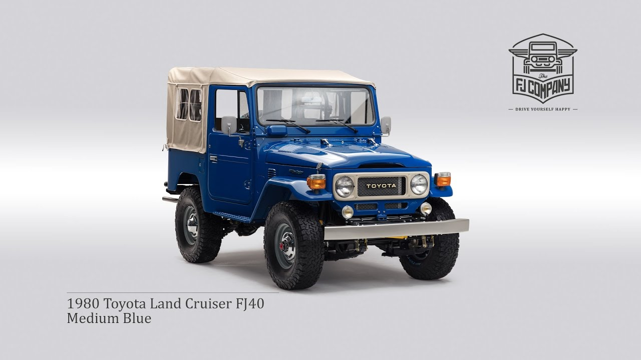 1980 toyota land cruiser fj40 medium blue youtube rh youtube com