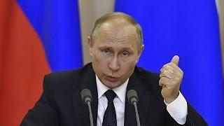 Путин: РФ готова предоставить стенограмму беседы Лаврова и Трампа
