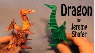 Fold An Origami Dragon! By Jeremy Shafer