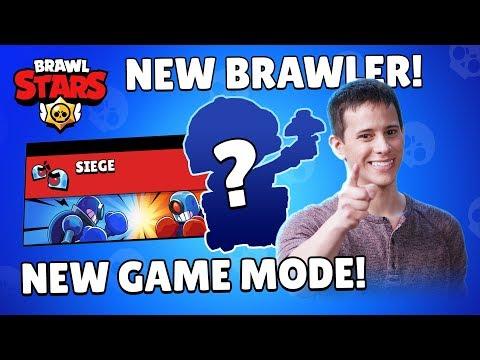 Brawl Talk: New Brawler, New Game Mode, New Skin!