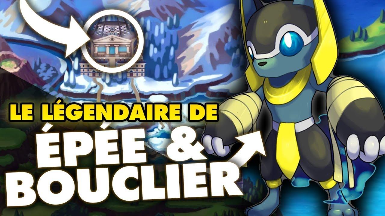 Le pok mon l gendaire p e et bouclier th orie youtube - Image pokemon legendaire ...