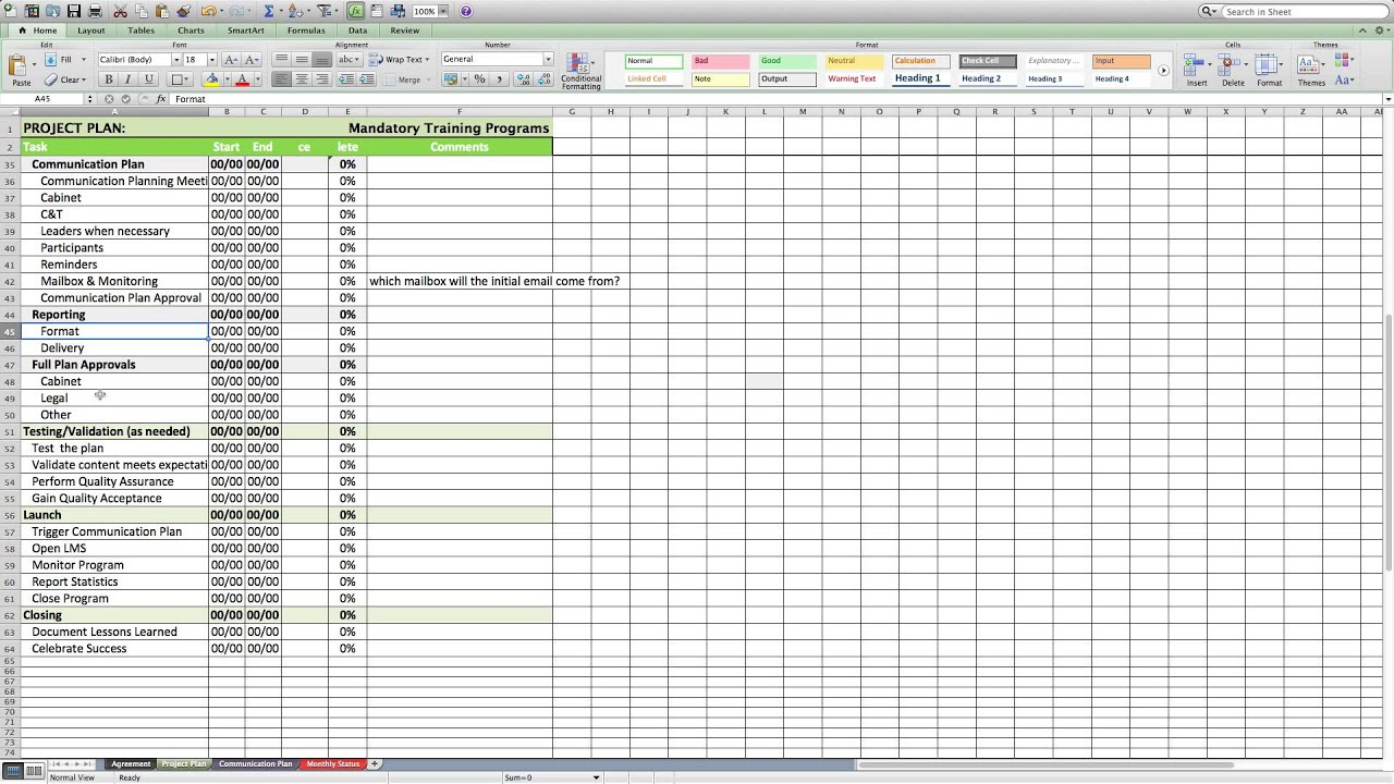 Printables Project Management Worksheet project management worksheet for e learning youtube