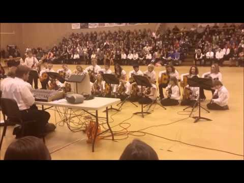 Lovell Elementary School 5th Grade Performance at Wyoming All-state Music Festival 1/18/2015