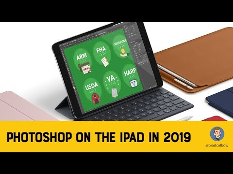 Adobe Photoshop Coming to the iPad in 2019 - YouTube