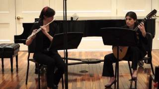 Blue Third Pieces by Libby Larsen, Performed by Tedesco Duo