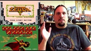 Similar Games: The Legend of Zelda (NES) vs Golden Axe Warrior (Sega Master System)