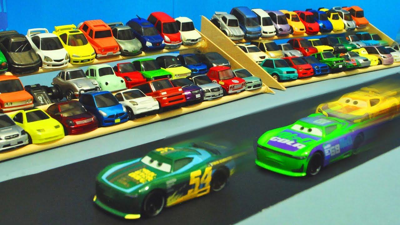 Disney Cars 3 Race Spectators Stopmotion Youtube