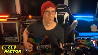 Devin Townsend Plays His Favorite Guitar Riffs