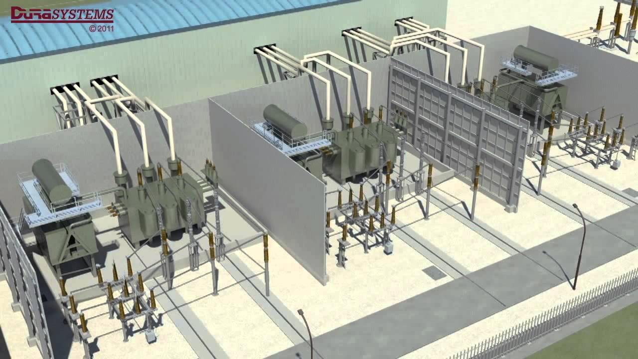 Modular Firewall For Electrical Transformers Youtube