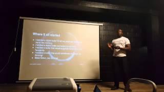 Cyman  Digital Butler at Croydon Tech City #LDNTechnologyWeek