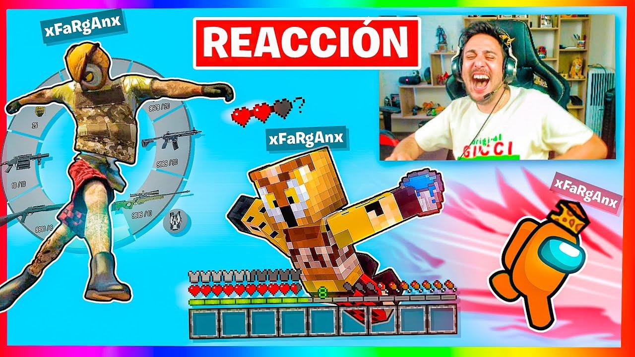 REACCIONO A FARGAN SIENDO FARGAN! (CASI MUERO DE RISA)