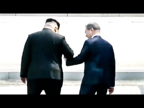 Amazing Moment: Kim Jong Un Invites South Korean President To Cross Border