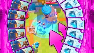 EPIC STRATEGY  ::  Clash Royale  ::  THE BALLOON IS SO DIRTY