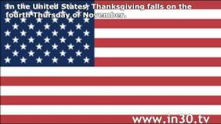 English in 30 Seconds: Thanksgiving