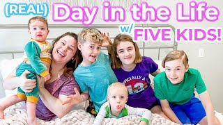 Day in the Lİfe w/ FIVE KIDS!