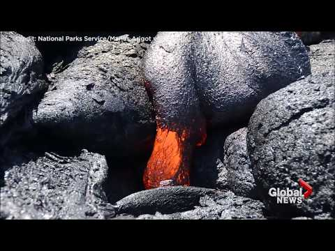 Check it out: Five months of lava flows at Hawaii's Kilauea volcano