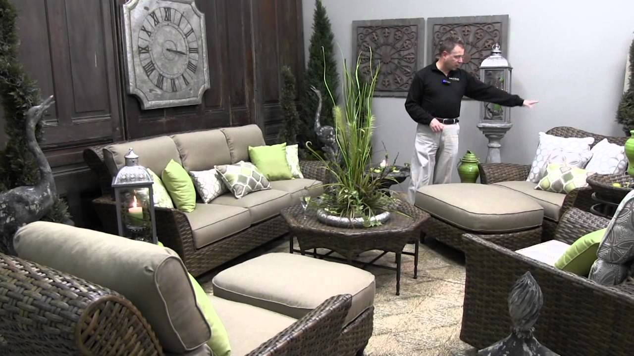 Lane Venture Cameroon Outdoor Patio Furniture Overview   YouTube