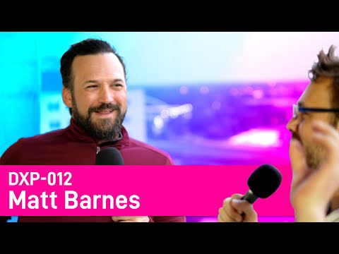DX012 - Matt Barnes - Making Collage and Experiences in Columbus