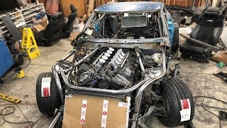 Starting on the Exhaust and Finishing Steering for the 240Z