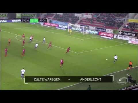 Samenvatting Zulte-Waregem - RSC Anderlecht (2-3)
