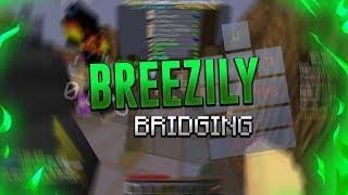 Breezily Bridging in HYPIXEL BedWars (17 CPS!) *hackusated*