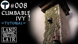 Crafting Climbable Ivy for Tabletop RPG (tutorial)