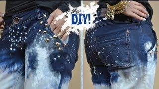 Customizando Calça Jeans – Inspiração Calvin Klein