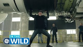 Inside Jet Engine Manufacturing & Testing - In The Wild - GE