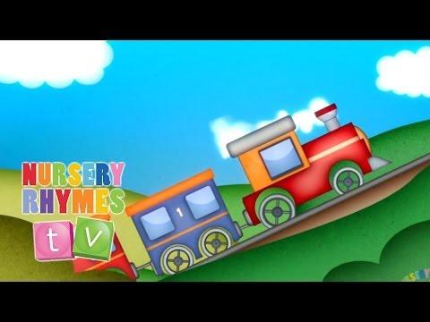 THIS LITTLE TRAIN | Nursery Rhymes TV. Toddler Kindergarten Preschool Baby Songs.