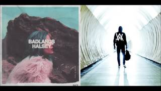 Halsey vs. Alan Walker - Faded Ghost